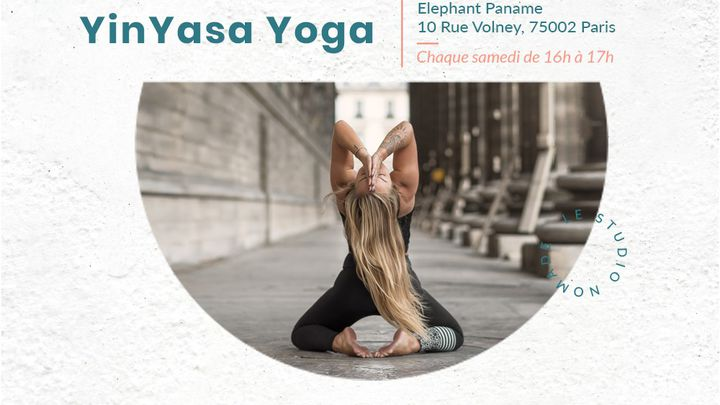 75002 - Yoga Vinyasa avec Elsa - Chaque samedi à 16h