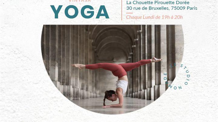 75009 - Yoga Vinyasa avec Claire - Chaque lundi à 19h