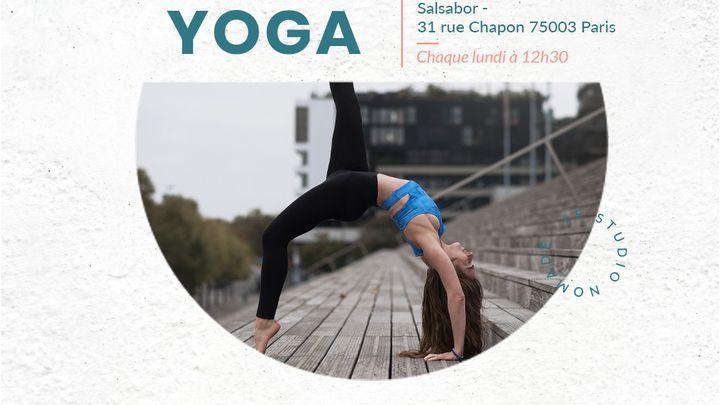 75003 - Yoga Vinyasa avec Pauline - Chaque lundi à 12H30