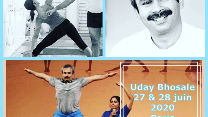 Workshop de Yoga Iyengar avec Uday Bhosale